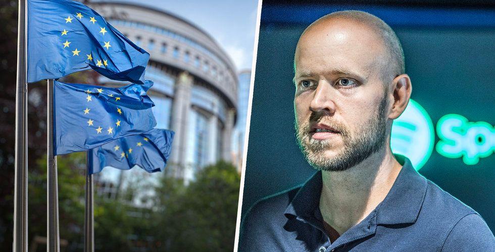 Breakit - EU-parlamentet sade precis ja till Spotifys mardrömsskatt