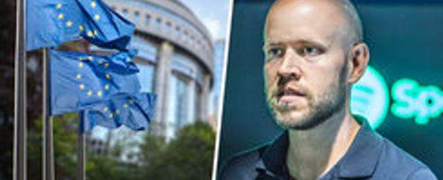 Breakit - EU-parlamentet röstade precis ja till Spotifys mardrömsskatt