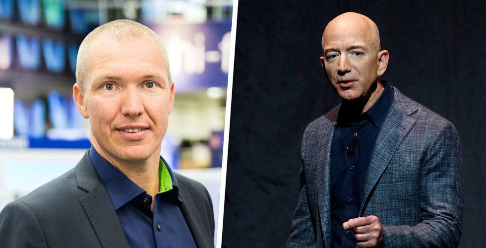 """Elgigantens vd om Amazons intåg: """"Nya konkurrenter är spännande"""""""