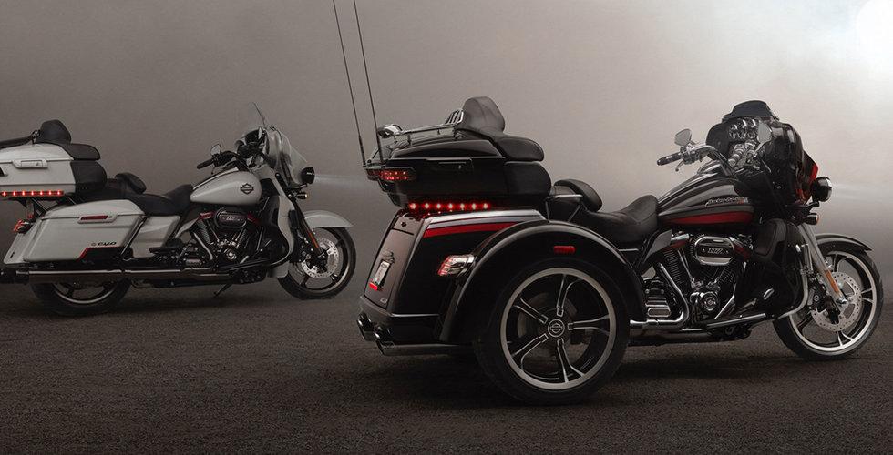 Harley-Davidson stoppar produktionen av elmotorcyklar