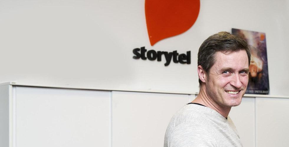 Storytel siktar på byte till First North