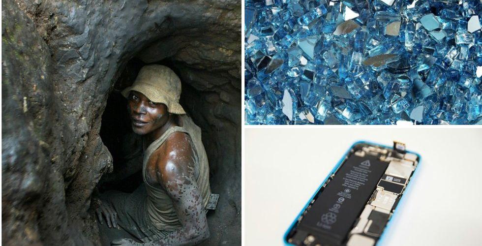 Granskning: Barnarbete bakom mineraler i Apples mobiltelefoner