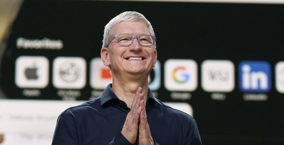Tim Cooks bonus från Apple: 6,5 miljarder