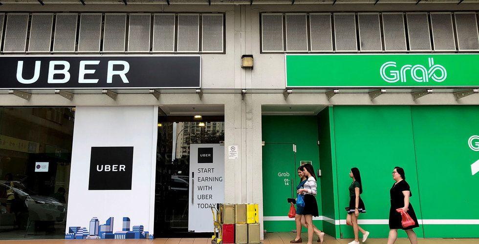 Uber och Grab kan få böter i Singapore