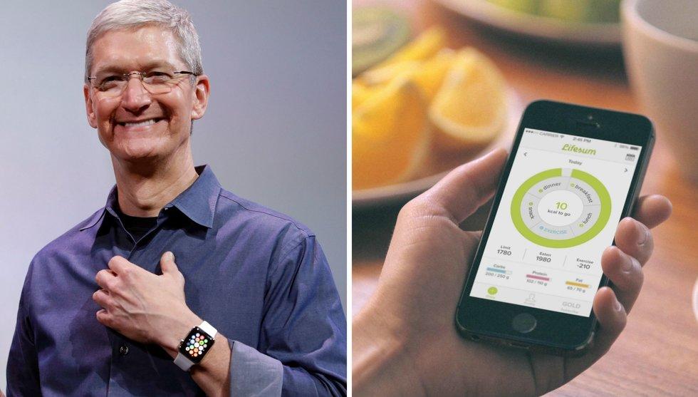 Apple och IBM gräver djupare - vill veta allt om hur du mår