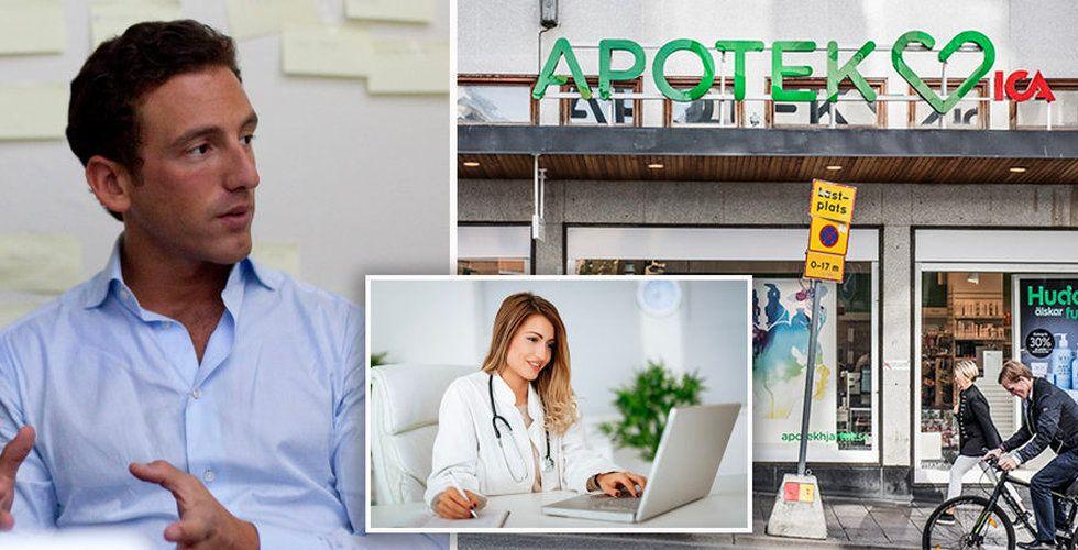 Ica-gruppen investerar en halv miljard i Min Doktor