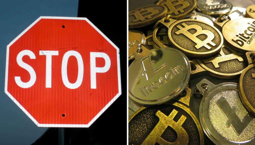 Fem av Sveriges sex största banker stänger dörren för bitcoin