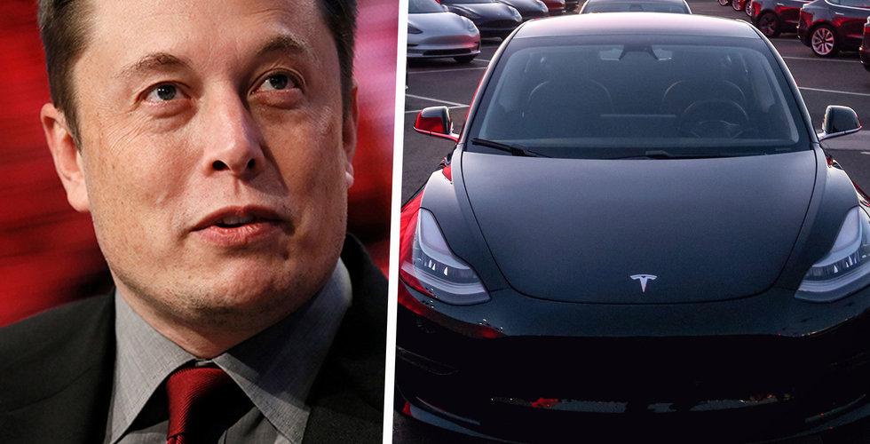 Tesla ska återkalla över 130 000 bilar i USA