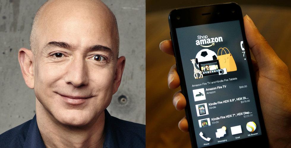 Amazons intåg i Sverige har inte pressat priserna