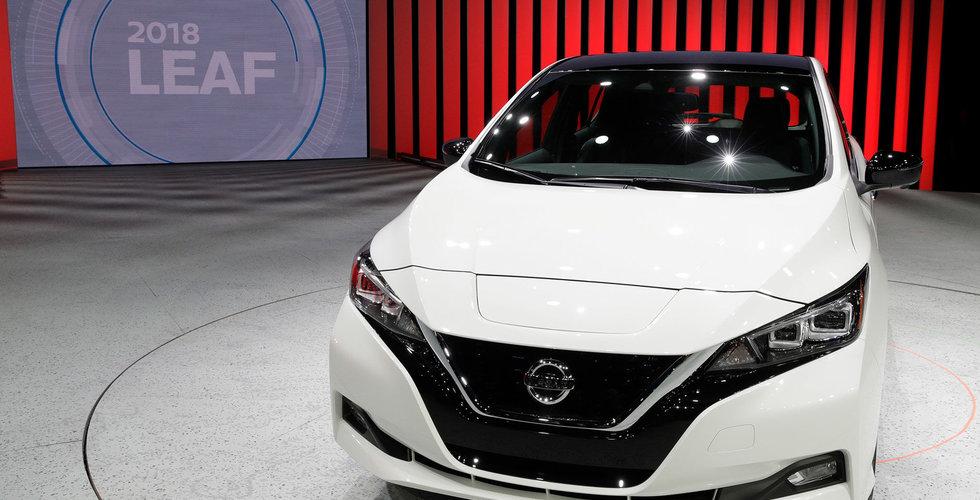 Breakit - Fler förbokningar än väntat för Nissans nya elbil
