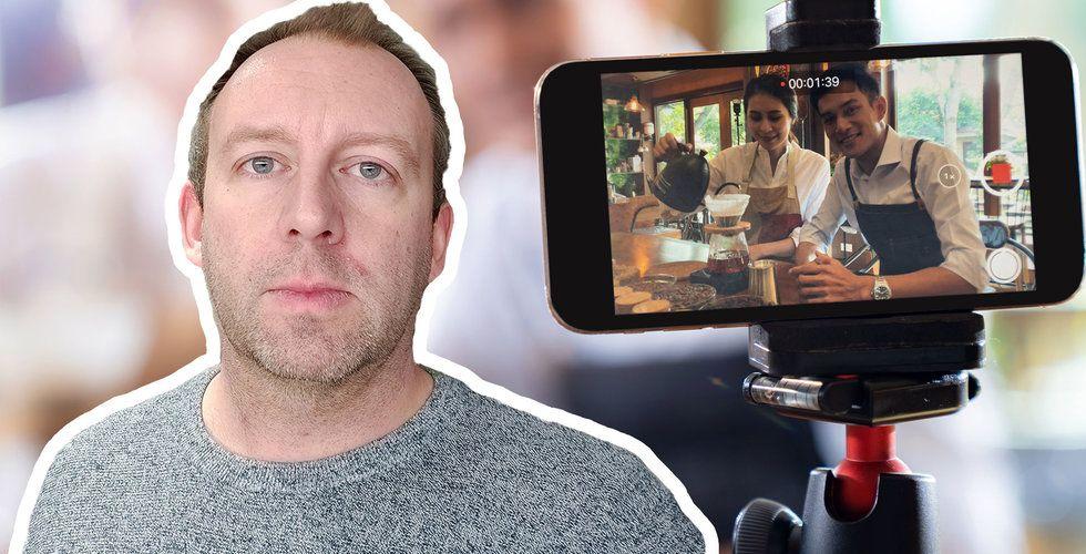 Christoffer Odin flyttade hem från Kina – nu satsar han på liveshopping med Onbaz