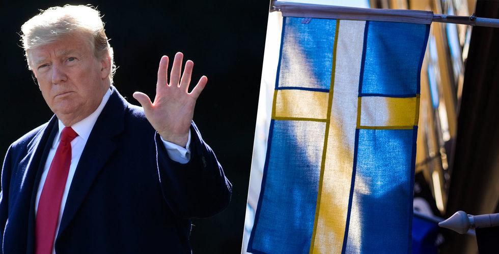 Fed-chefen sågar Trumps plan för tillväxt – följa Sverige är receptet