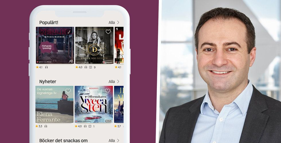 Storytel-utmanaren Nextory tar in 165 miljoner kronor