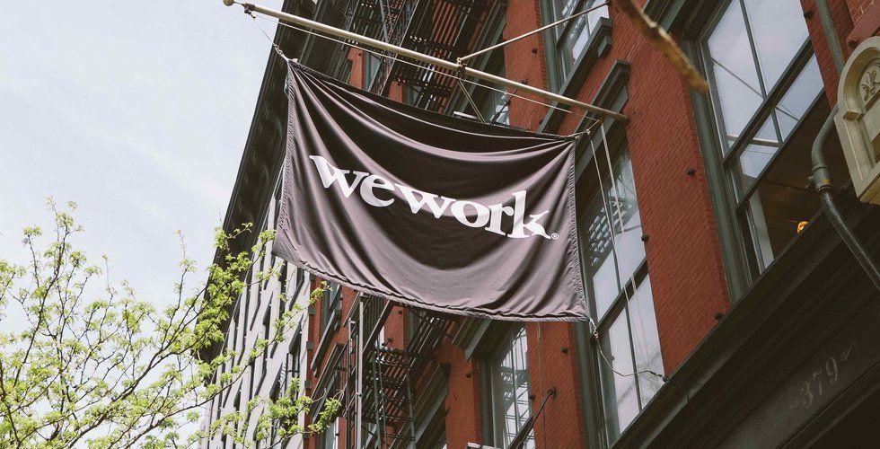 Co-workingbjässen Wework tredubblar sina förluster i Europa