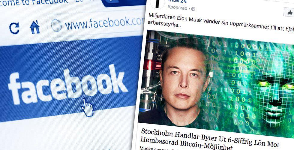 Fejknyhet på svenska om Elon Musk sprids från industriområde i Lettland