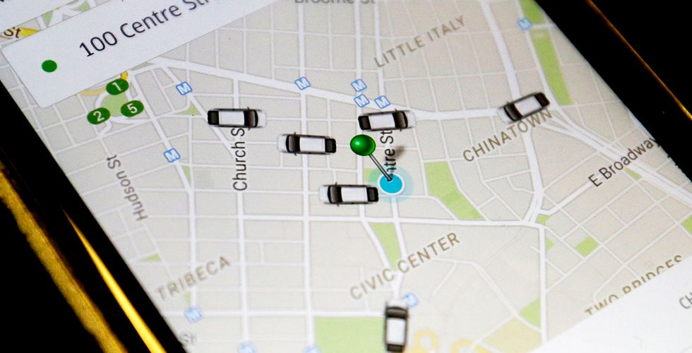 """Uber efter fällande domen: """"Inom ramen för svensk lagstiftning"""""""