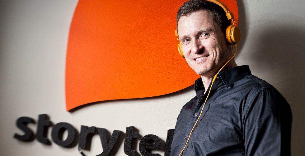 Storytels mäktiga milstolpe: 1 miljon betalande kunder