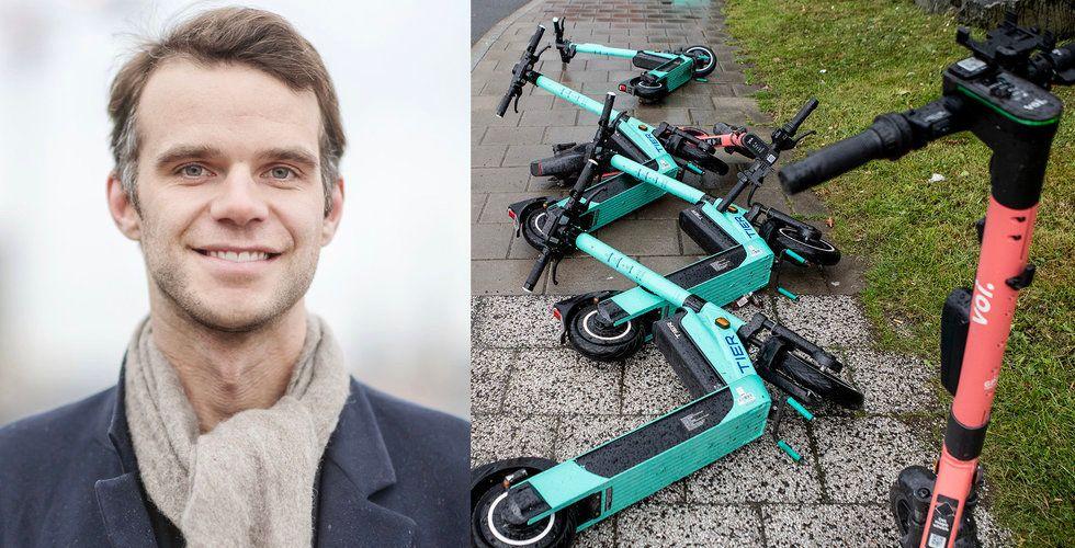 Oväntade utspelet från Voi och Tier – begränsa antalet elsparkcykelföretag i Stockholm