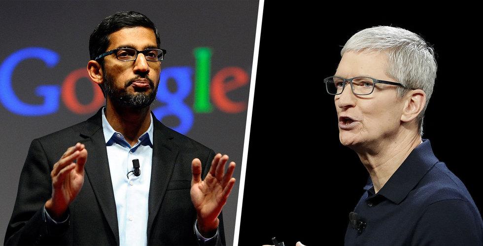 USA stämde Google – då kan Apple hamna i kläm