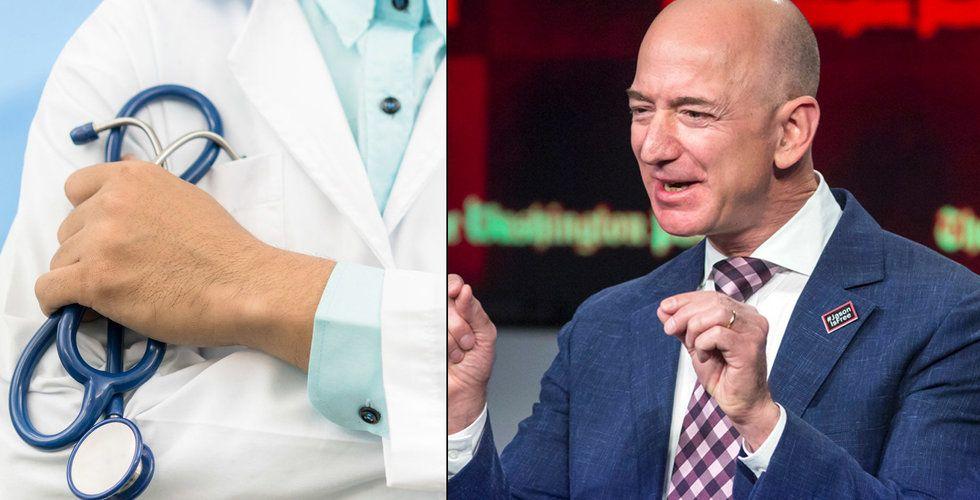 Amazon och Buffett skakar om hälsosektorn - bildar gemensamt bolag