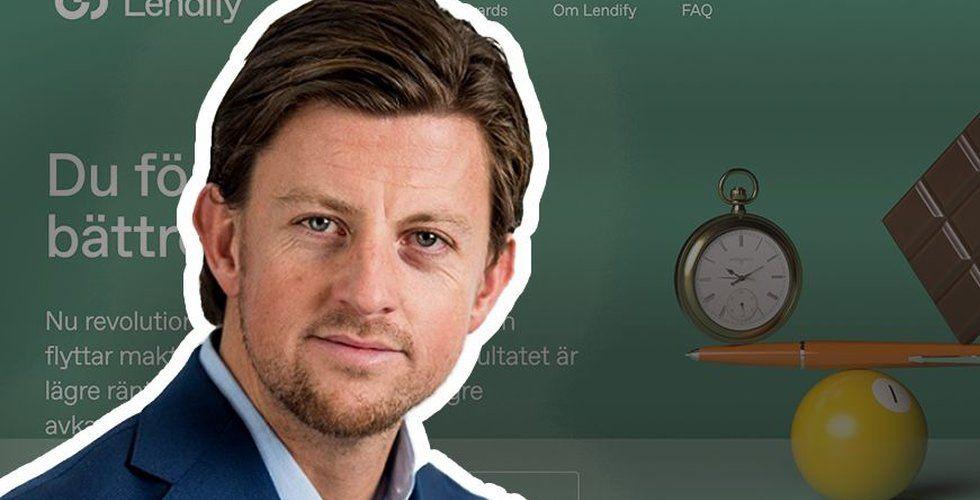 Lendifys ljusskygge grundare John-Christian de Champs har cashat in i hemlighet – och de andra ägarna är inte glada