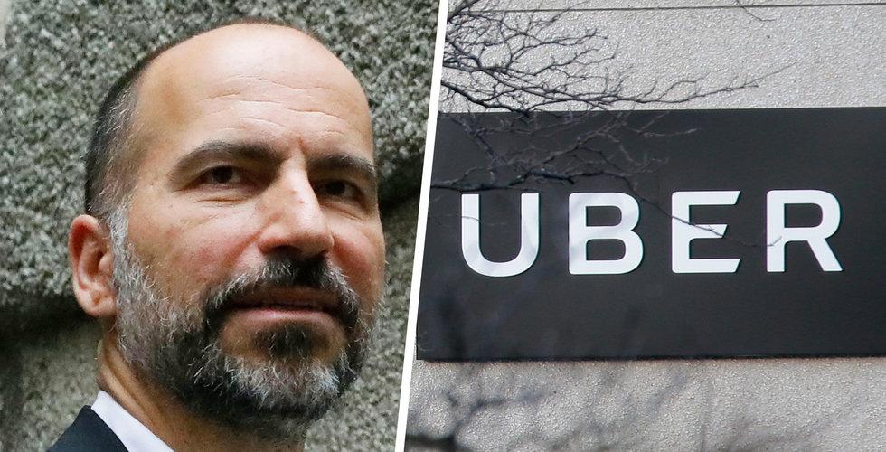 Uber säljer sin enhet för självkörande bilar