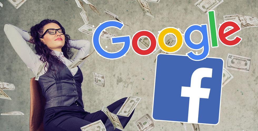 Så hög lön har de anställda på Google och Facebook i Sverige