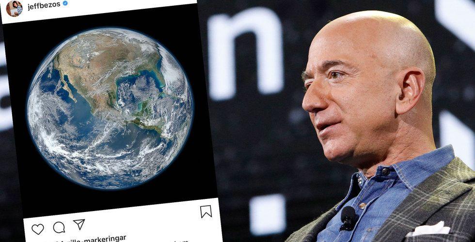 Jeff Bezos startar miljardfond för att rädda klimatet