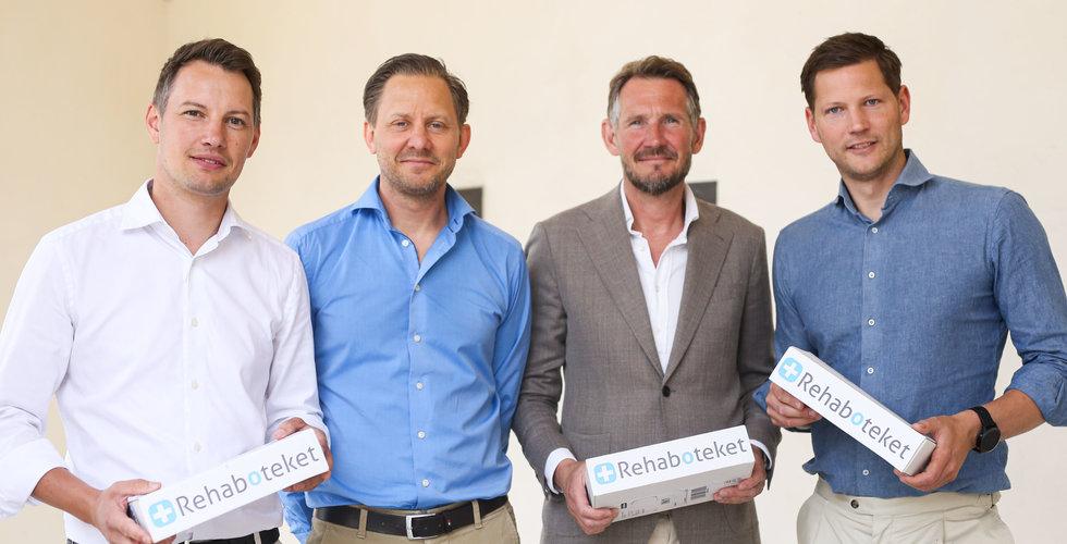 Lunchidén blev e-handeln Rehaboteket – nu säljer duon för att skala upp