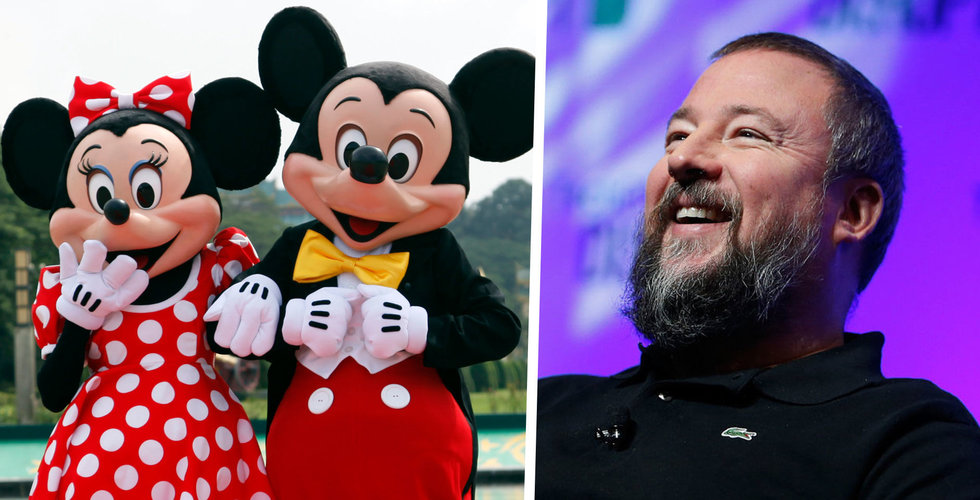 Disneys andel i hajpade Vice media – nu värd noll