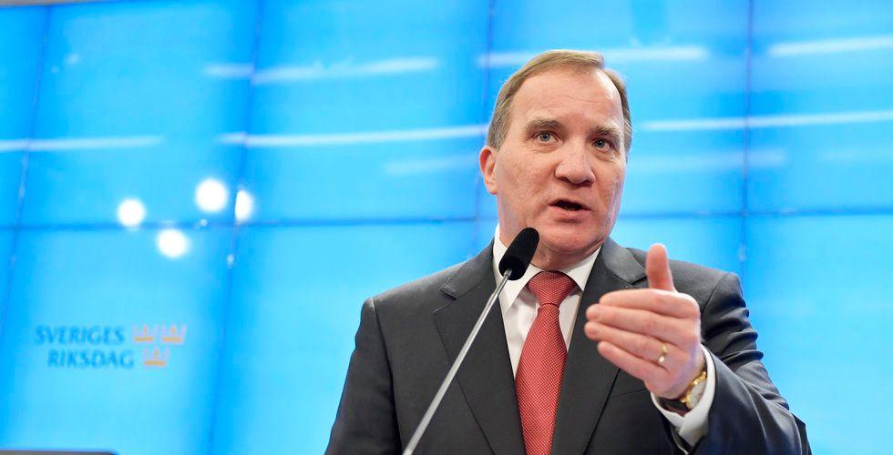 """Löfvens besked till Sveriges entreprenörer – """"Lämnar ingen i sticket"""""""