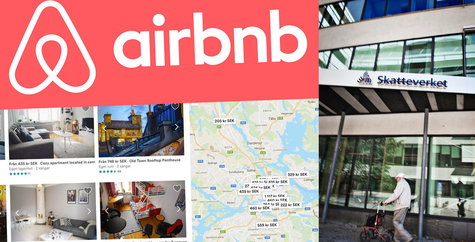 Trots rekordvinster - Airbnb betalar ingen skatt i Sverige