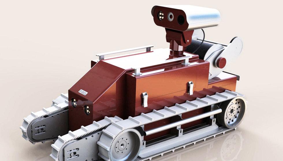 Breakit - Almi Invest går in med pengar till bygge av svensk robotbrandman