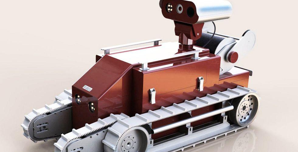 Almi Invest går in med pengar till bygge av svensk robotbrandman