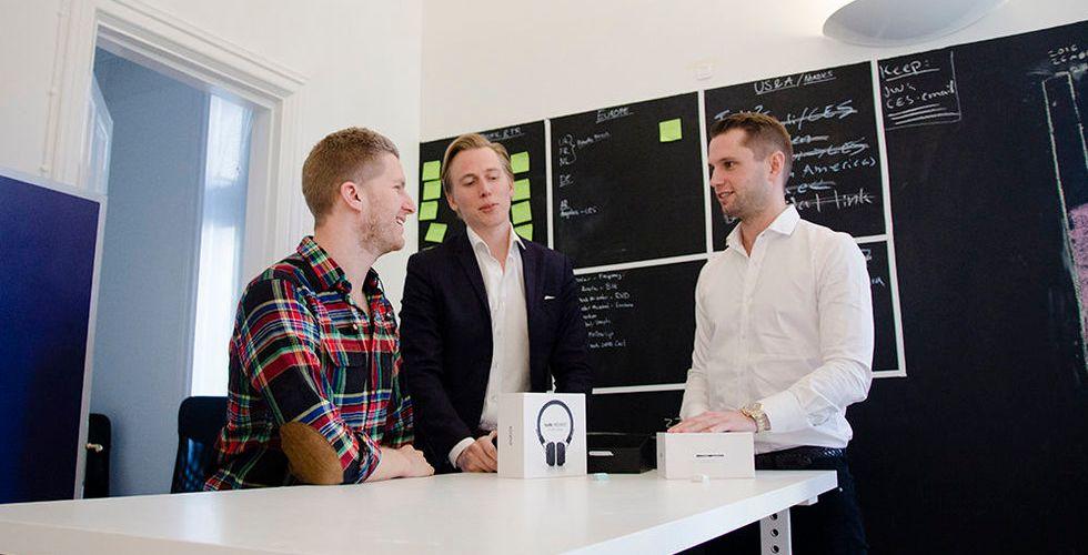 """Sveriges nästa hörlursraket: """"Vi omsätter 100 miljoner nästa år"""""""