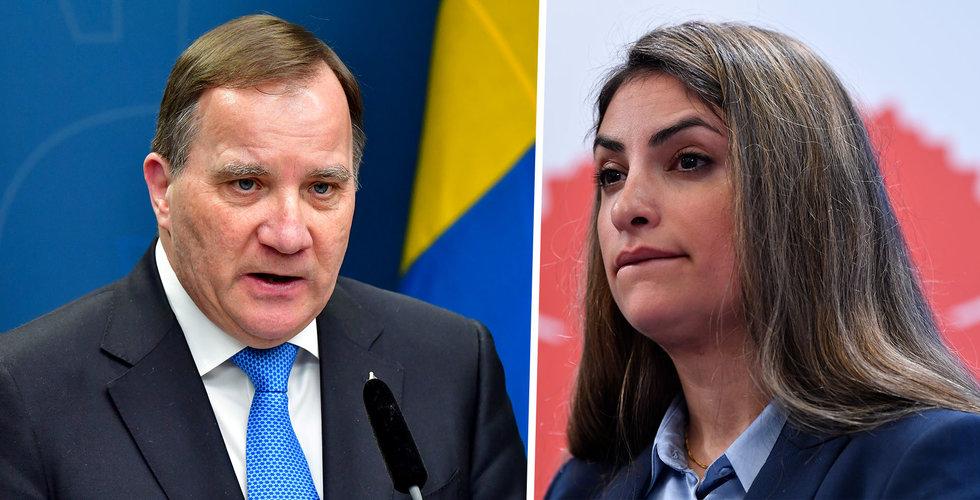 Misstroendeomröstning mot statsminister Stefan Löfven i dag