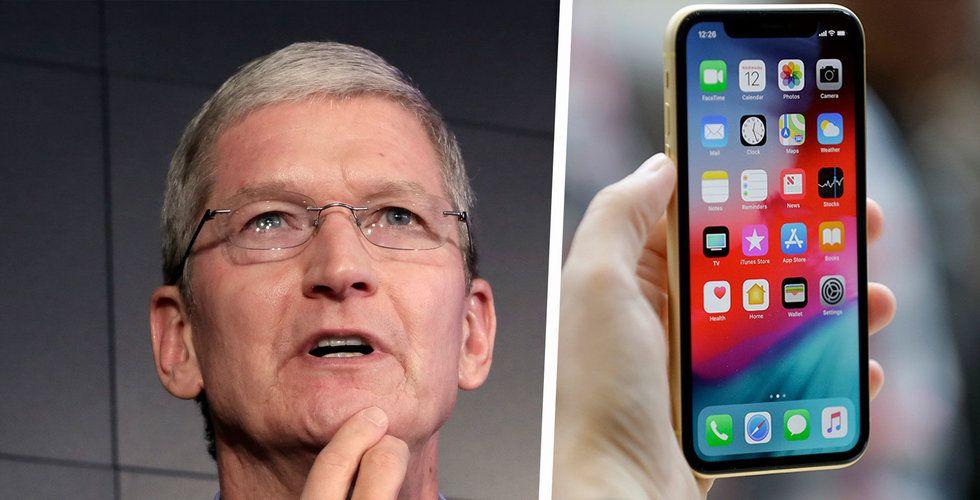 Apples iPhone-försäljning stabil – trots ras för globala smartphoneförsäljningen
