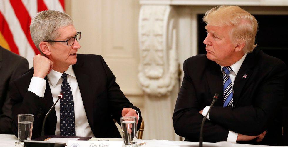 Amerikanska teknikjättar under Donald Trumps lupp