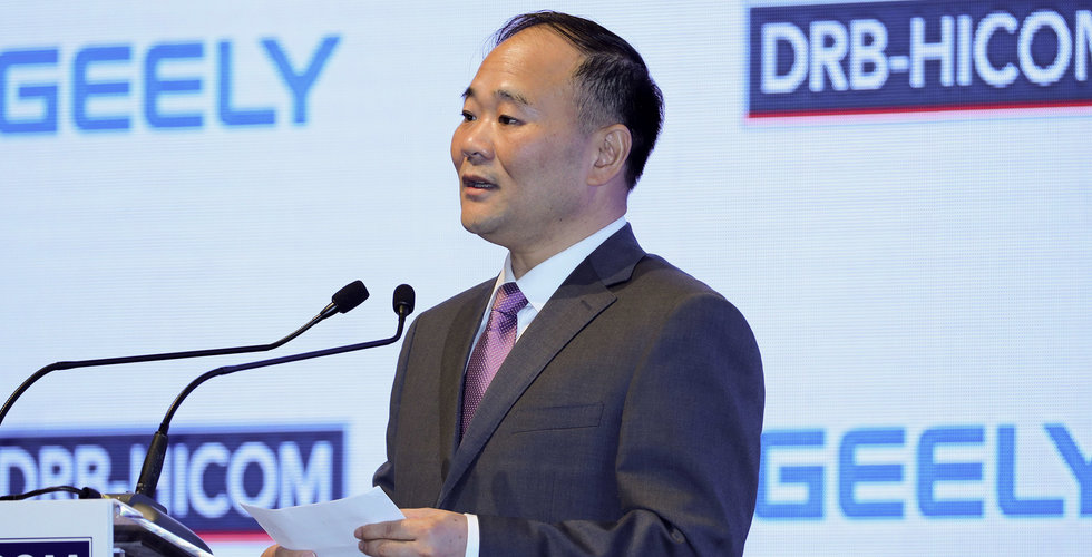 Geely-grundaren Li Shufu vill inte ta plats i Daimlers styrelse