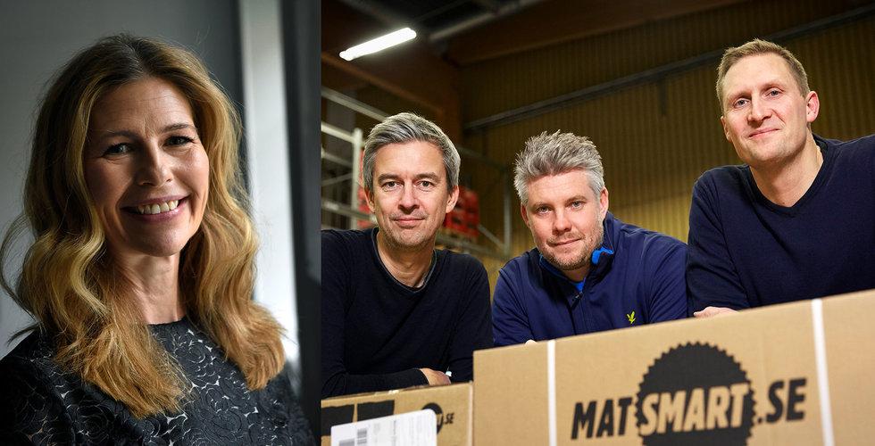 Matsmart tar in 75 miljoner – D-Ax och Norrsken kliver in som investerare