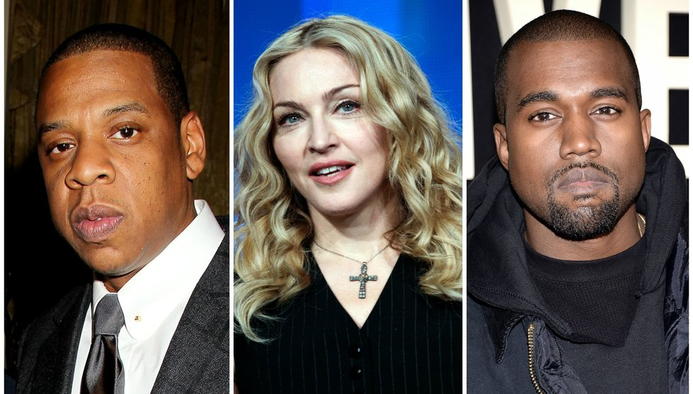 Spotify users will have to wait for new songs from Madonna and Kanye West when they join Jay Z:s Tidal