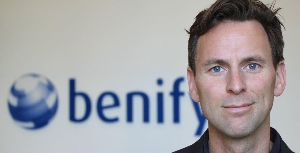 Benify omsätter kvarts miljard - storsatsar på ny fondrobot