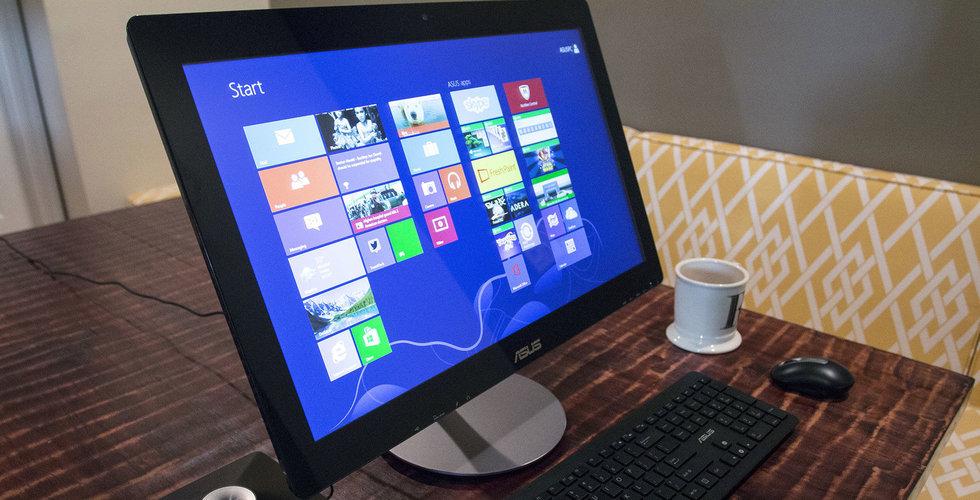 De globala PC-leveranserna vände upp i fjärde kvartalet - första uppgången på sex år