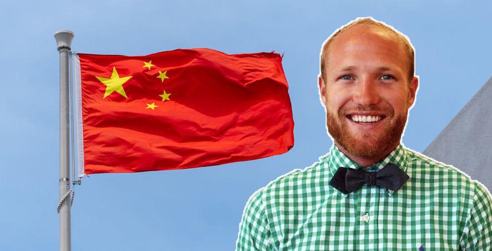 """Sprinklebit laddar för Kina – """"Ett stort genombrott för oss"""""""