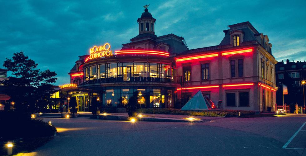 Casino Cosmopol i Sundsvall avvecklas – saknas tillräckligt kundunderlag