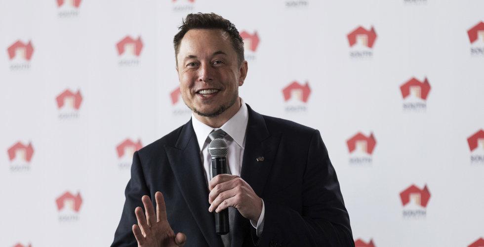Musk har raderat Facebook-sidor för Tesla och SpaceX