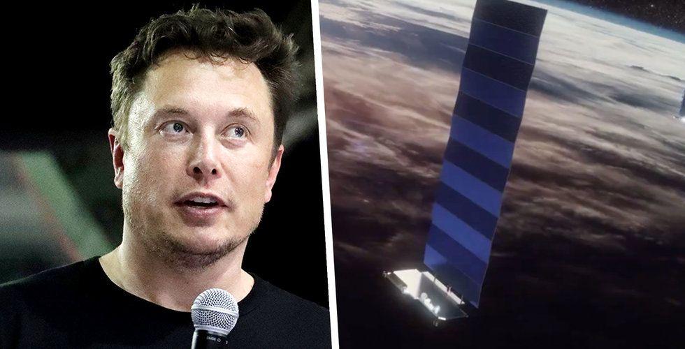 Elon Musks satellit nära krock i rymden – vägrade flytta på sig