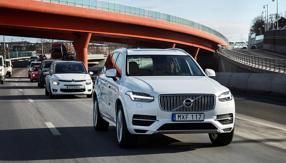 Breakit - Volvo vill testa självkörande bilar - på huvudleder i kinesiska städer