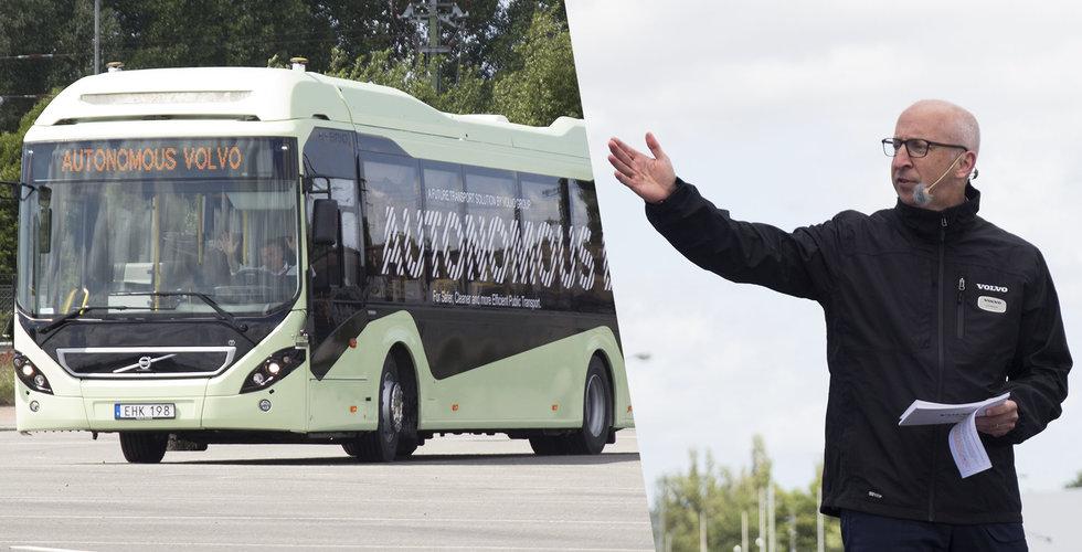 AB Volvo nära genombrott – så snart rullar nya självkörande fordon