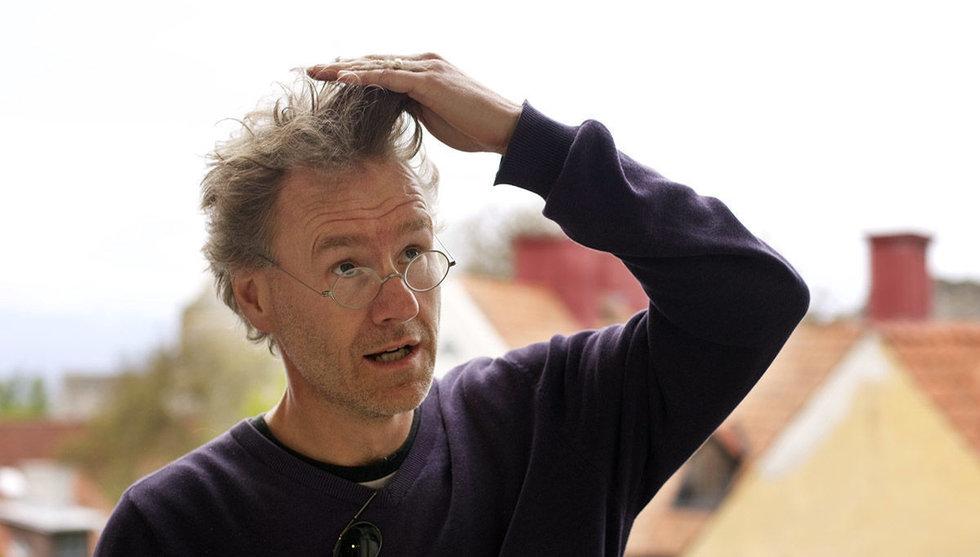 Fredrik Ampler klipper till med bokningstjänsten Wavy för frisörer